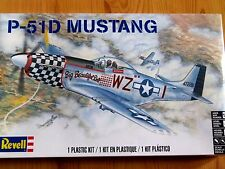 Revell Monogram 1:48 P-51D Mustang WWII Aircraft Model Kit