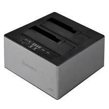 Silverstone TS12C 3.5/2.5inch SATA SSD/HDD USB3.1 Type-C Dock/Officeline Clone