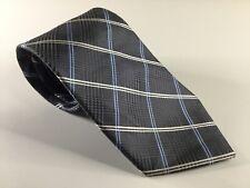 Tasso Elba Men's Neck Tie New Necktie NWOT Silk Neckwear Blue Gray White