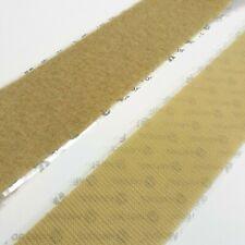 VELCRO 1023-AP-PSA//H Beige Nylon Woven Fastening Tape 50 Length Hook Type Pressure Sensitive Adhesive Back 3//4 Wide