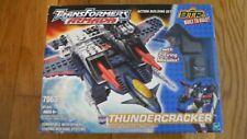 Transformers Armada Thundercracker BTR Built To Rule Plane Jet Building set 7063