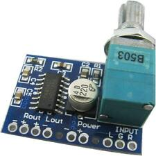New PAM8403 5V 3W+3W Mini Audio Digital Amplifier Board with Volume Control S,