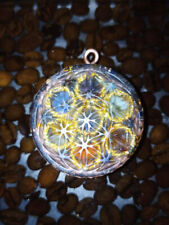 Orgone Tensor Ring Flower of Life Herkimer Elite Shungite Moldavite EMF 5G Magic