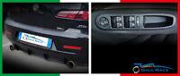 adesivi auto alfa romeo 159 alette dam sotto paraurti alzavetri sticker decal