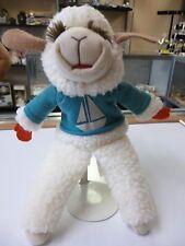"Vintage 11"" Lamb Chop Hand Puppet 1993 Shari Lewis Stuffed Animal Plush Toy"