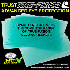 True Fusion Welding Helmet - Spare Lens Covers - Replacement Lenses