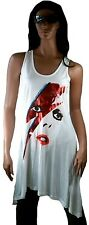 AMPLIFIED Official DAVID BOWIE Aladdin Sane Rock Star Designer Top Dress M 40