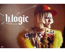 LEE HYO RI - H-Logic (4th Album) OFFICIAL POSTER *HARD TUBE CASE*