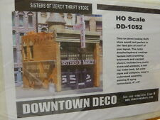 """Downtown Deco HO #DD1052 Sister of Mercy Thrift Store (plaster kit) 4""""x 6"""""""