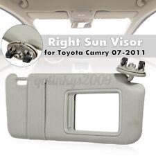 Sun Visor Shield Cover Right Passenger Side For Toyota Camry 2007-2011 & Sunroof