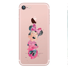 MINNIE MOUSE 2 Watercolour Princess Disney Hard Case For iPhone
