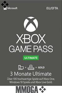 Xbox Game Pass Ultimate 3 Monate - Mitgliedschaft Code - Download key - DE & EU