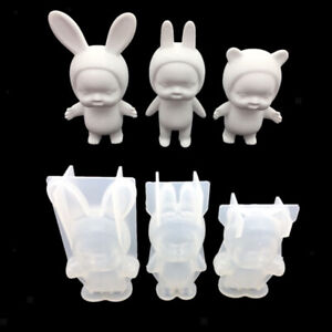 Blesiya Silicone Mould 3D Stand Baby Chocolate Cake Fondant Decorating Tools