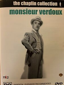 MONSIEUR VERDOUX DVD Charlie Chaplin 1947 AS NEW!