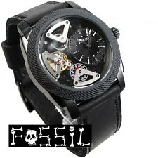 FOSSIL MEN'S TWIST SKELETON COLLECTION BLACK TOP WATCH ME1121