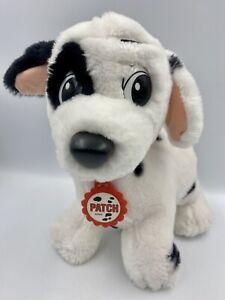 "Mattel Walt Disney Company 10"" Patch Plush Puppy Dog 101 Dalmatians Vintage 1991"