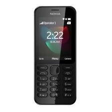 Microsoft Nokia 222 Black Bluetooth Unlocked Mobile Phone