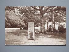 R&L Postcard: Rufus Stone New Forest, J Salmon