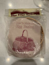 Vintage Blue Ridge Basket Kit Egg Basket Commonwealth New