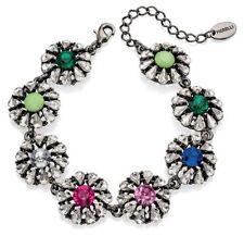 Cubic Zirconia Mixed Metals Costume Bracelets