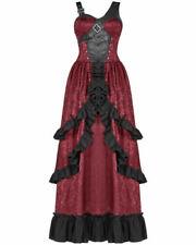 Robes avec des motifs rouges Floral pour femme