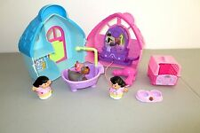 Fisher Price Little People Pet Parlor Vet Clinic Hairdryer w Sounds  Lot G9