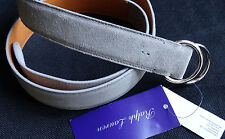 Ralph Lauren Purple Label GRIGIO CINTURA BELT TAGLIA L MADE IN ITALY