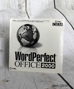 NEW Corel WordPerfect Office 2000