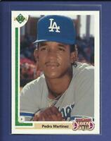 Pedro Martinez RC  1991 Upper Deck FINAL EDITION Rookie Card 2F Dodgers Red Sox