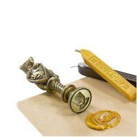 HARRY POTTER Metall Siegelstempel & Wachs Siegel HUFFLEPUFF Collector Set