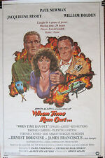 WHEN TIME RAN OUT - Vintage Original ROLLED (Not folded) 27 x 41 movie poster