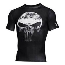 Under Armour Alter Ego Punisher Black Compression T-Shirt Size Medium