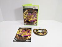 MTV Pimp My Ride (Xbox 360) COMPLETE with Manual - Rare Game - Free Shipping