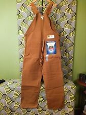Vtg Nos Oshkosh B'Gosh Vestbak Bib Overalls Mens 40x32 Duck Cloth Union Made Usa