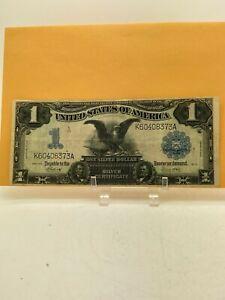 1899 $1 LARGE SIZE BLACK EAGLE SILVER CERTIFICATE NOTE ESTATE FIND NO RESERVE