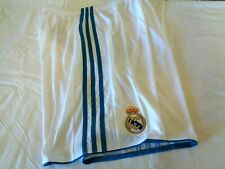 REAL MADRID HOME SHORTS 2017/18 YOUTH SIZE LARGE NEW