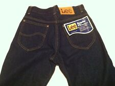 Vtg Lee Straight Leg Jeans 28x36 NEW WITH TAGS Made in USA Dark NOS Regular fit