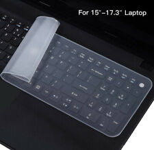 Slim Silicone Keyboard Protector Skin Laptop Keypad Cover for Macbook Samsung HP