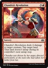 Chandra's Revolution NM X4 Aether Revolt Red Common MTG