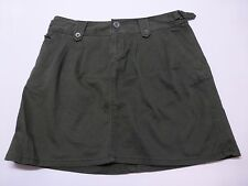 Converse One Star Womens Size 10 Green Fit 3 Green Khaki Skirt Good Condition