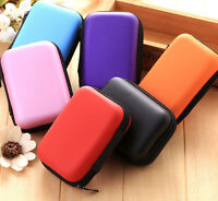 Small EDC Case Storage Bag Pouch Box For SD TF Card Earphones Headphones Headset