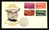 Spanish Sahara 1954 Ocean Life Series FDC - Z15025