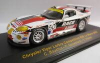 Ixo 1/43 Scale - LMM039 CHRYSLER VIPER 'RACELINE' #50 LE MANS 2002