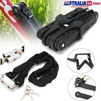 4 Digit Bicycle Bike Anti-Theft Scooter Cycling Security Folding & Chain Lock k
