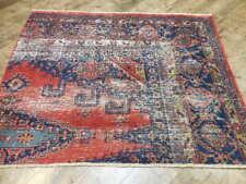 C1880 Vg Dy Antique Karache Serapi Heriz Viss 4x5 Estate Sale Rug