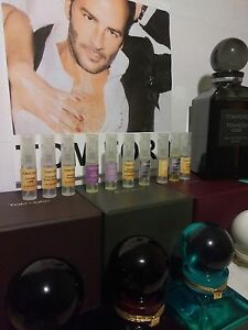 60+ Fragrances TOM FORD Authentic Perfume 2ml Samples Travel size Spray Atomizer