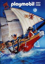 Prospekt Playmobil 2007 2008 7/07 juguetes catálogo catálogo juguetes Catalog