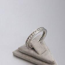 Wert 2590 € Brillant Memory Ring (0,95 Carat) in 750er 18 K Weißgold Größe 52
