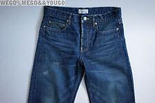 A.P.C. JEANS APC Jeans Washed selvedge denim size 27 x 34