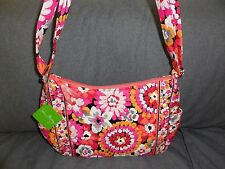 Vera Bradley Pixie Blooms On The Go Shoulder Bag Hobo Purse-- #12469-207